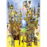 Puzzle  Schmidt-Spiele-59354 Colin Thompson, Castle in the Air
