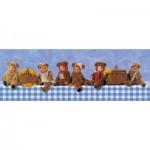 Puzzle  Schmidt-Spiele-59360 Anne Geddes: Teddy Bear picnic