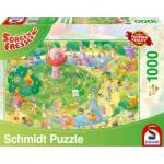 Puzzle  Schmidt-Spiele-59370 Sorgenfresser, The Labyrinth