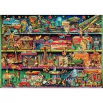 Puzzle  Schmidt-Spiele-59376 Aimee Stewart - Wonderful World of Toys