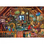 Puzzle  Schmidt-Spiele-59379 Aimée Stewart - Treasures under the Roof