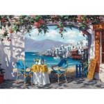 Puzzle  Schmidt-Spiele-59396 Sam Park - Rendez-vous at Mykonos