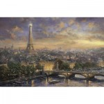 Puzzle  Schmidt-Spiele-59470 Thomas Kinkade:  City of Love