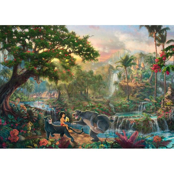Thomas Kinkade - The Jungle Book
