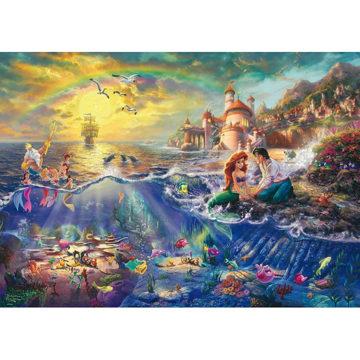 Thomas Kinkade - The Little Mermaid