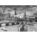 Puzzle  Schmidt-Spiele-59508 Thomas Barbey: Gust of wind