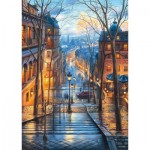 Puzzle  Schmidt-Spiele-59560 Evgeny Lushpin - Spring Morning in Montmartre