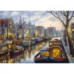 Puzzle  Schmidt-Spiele-59561 Evgeny Lushpin - On the Canal