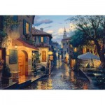 Puzzle  Schmidt-Spiele-59563 Evgeny Lushpin - Magical Evening Mood