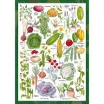 Puzzle  Schmidt-Spiele-59567 Countryside Art - Vegetable Garden