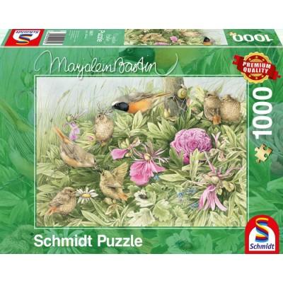 Puzzle Schmidt-Spiele-59571 Feast on the Meadow