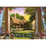 Puzzle  Schmidt-Spiele-59591 Dominic Davison - View of the Cottage