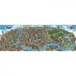 Puzzle  Schmidt-Spiele-59594 Cityscape Berlin