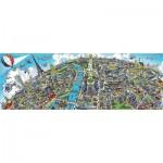 Puzzle  Schmidt-Spiele-59597 Cityscape Paris