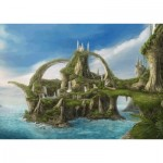Puzzle  Schmidt-Spiele-59610 Island of the Falls
