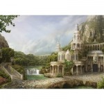 Puzzle  Schmidt-Spiele-59611 Palais in the Mountains