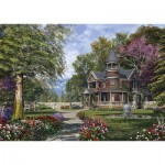 Puzzle  Schmidt-Spiele-59617 Dominic Davison - Manor with Tower