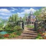 Puzzle  Schmidt-Spiele-59618 Dominic Davison - Idyllic Country Estate