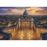 Puzzle  Schmidt-Spiele-59628 Thomas Kinkade - The Vatican