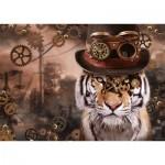 Puzzle  Schmidt-Spiele-59646 Steampunk Tiger