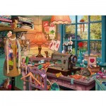 Puzzle  Schmidt-Spiele-59654 In the Seewing Room