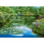 Puzzle  Schmidt-Spiele-59657 Sam Park - Water Lily Pond