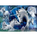Puzzle  Schmidt-Spiele-59668 Lisa Parker, Graceful Unicorns