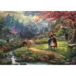Puzzle  Schmidt-Spiele-59672 Thomas Kinkade - Disney - Mulan