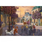 Puzzle  Schmidt-Spiele-59690 Thomas Kinkade - Disney - The Aristocats