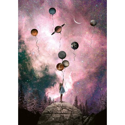 Puzzle Schmidt-Spiele-59903 Natacha Einat - Planet Longing