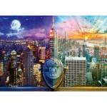 Puzzle  Schmidt-Spiele-59905 Lars Stewart - New York - Night and Day