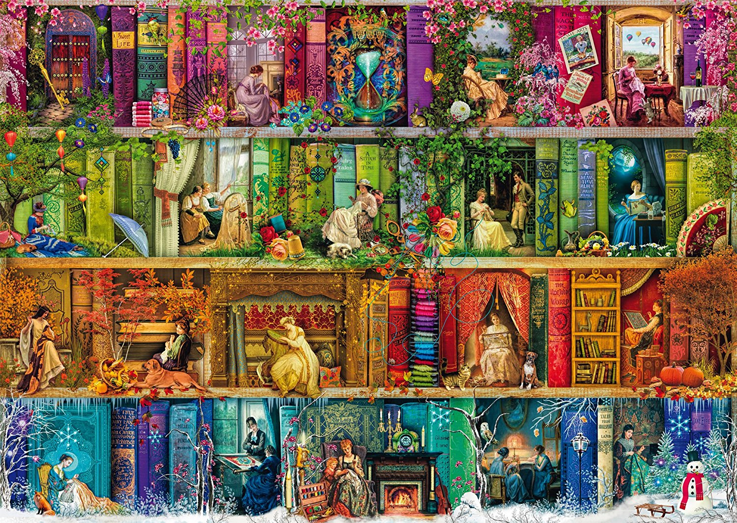 Puzzle Aimee Stewart Back To The Past Schmidt Spiele
