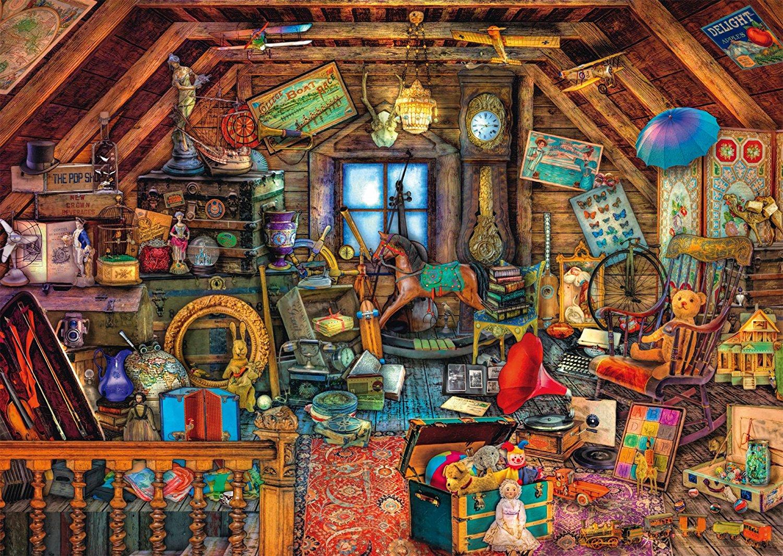 Puzzle Aim 233 E Stewart Treasures Under The Roof Schmidt
