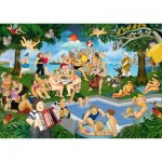 Puzzle   Beryl Cook - Summer Festival