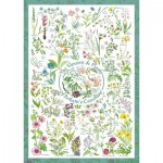 Puzzle   Countryside Art - The Flowers and Plants of Britain's Coastline