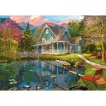 Puzzle   Dominic Davison, House by the Lake