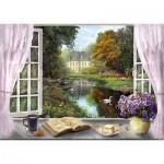 Puzzle   Dominic Davison - View into the Castle Garden