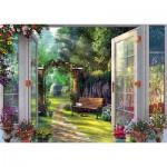 Puzzle   Dominic Davison - View into the Haunted Garden
