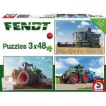 Puzzle   Fendt 1050 Vario / 724 Vario / 6275L, 3x48 Pieces