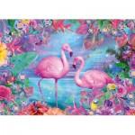 Puzzle   Flamingos