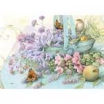 Puzzle   Flower Basket