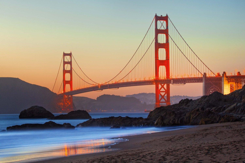 Puzzle Golden Gate Bridge San Francisco Schmidt Spiele