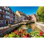 Puzzle   Hamlet with Half-Timbered Houses