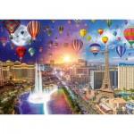 Puzzle   Lars Stewart - Las Vegas - Night and Day