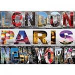 Puzzle   London, Paris, New York