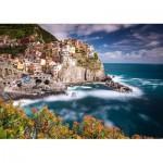Puzzle   Manorola, Cinque Terre, Italy