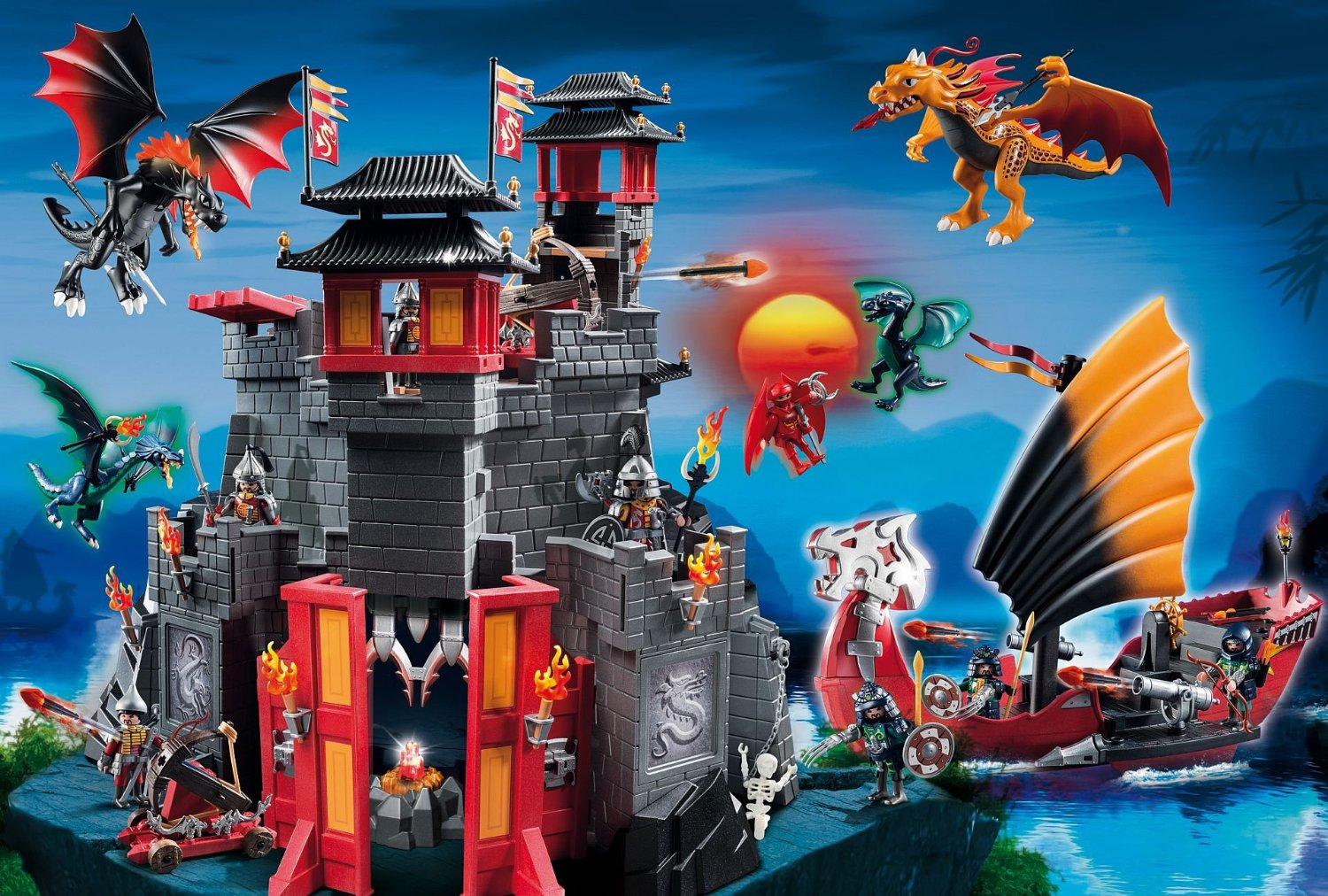 puzzle playmobil asia the land of dragons schmidt spiele. Black Bedroom Furniture Sets. Home Design Ideas