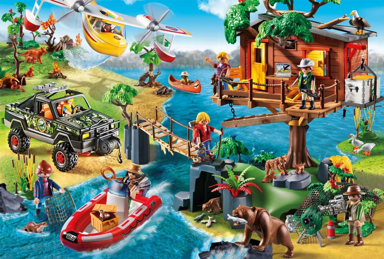 Puzzle playmobil treehouse schmidt spiele 56164 150 - Toutes les maisons playmobil ...