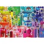 Puzzle   Rainbow Colours