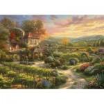 Puzzle   Thomas Kinkade - At the Winery